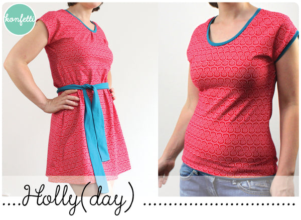 Holly(day) Sommerkleid und Shirt