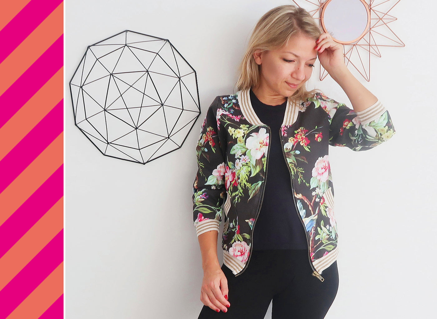 Konfetti Patterns Näh-Event lasari design jacke nähen