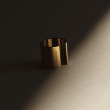 Load image into Gallery viewer, Minimally-Edgy 18k Gold-Plated Ring - Tanzire Store