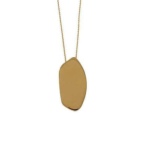 Asymmetric Chic Pendant In 18k Gold-Plating - Tanzire Store