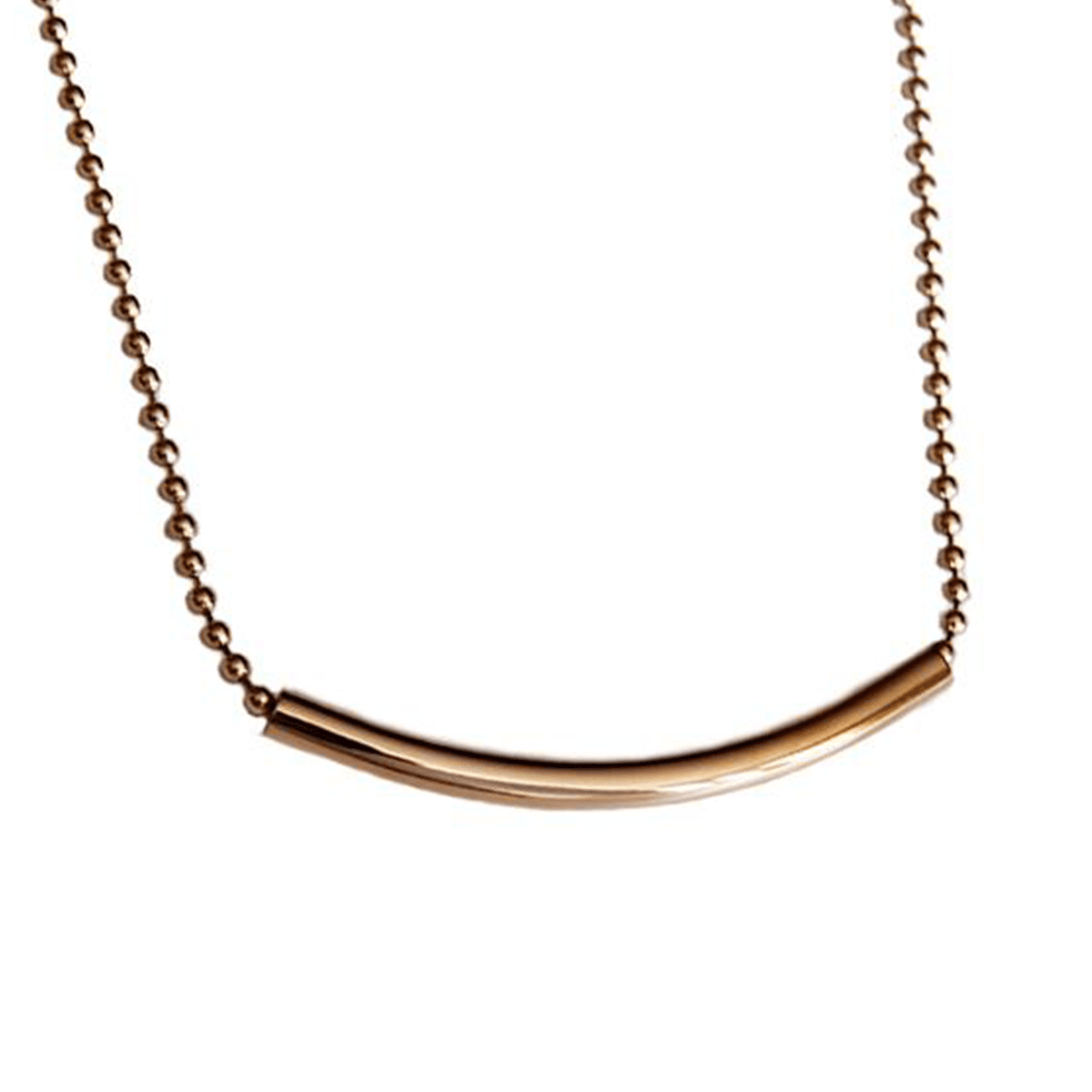 Radiant 18k Gold-Plated Pendant Necklace
