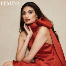 Load image into Gallery viewer, Athiya Shetty Wearing Tri Hoop Earrings for Femina India