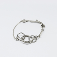 Load image into Gallery viewer, Chunky Chain Asymmetric Bracelet - Tanzire Store