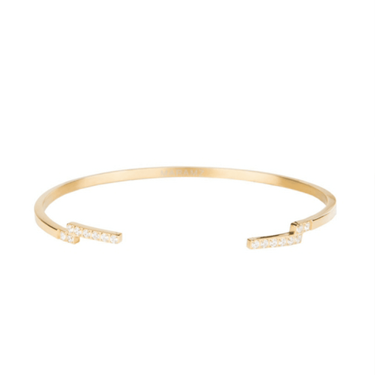Lucent 18k Gold-Plated Cuff Bracelet