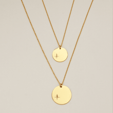 Load image into Gallery viewer, 18k Gold-Plated Pendant With Big Polar Star Medal - Tanzire Store