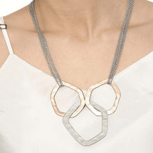 Load image into Gallery viewer, Metallic Ayas Rose Gold Necklace