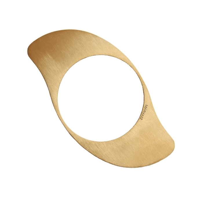 Basic 18K Gold Plated Eye Bangle Bracelet made in Stainless Steel, handcrafted in Spain for Women