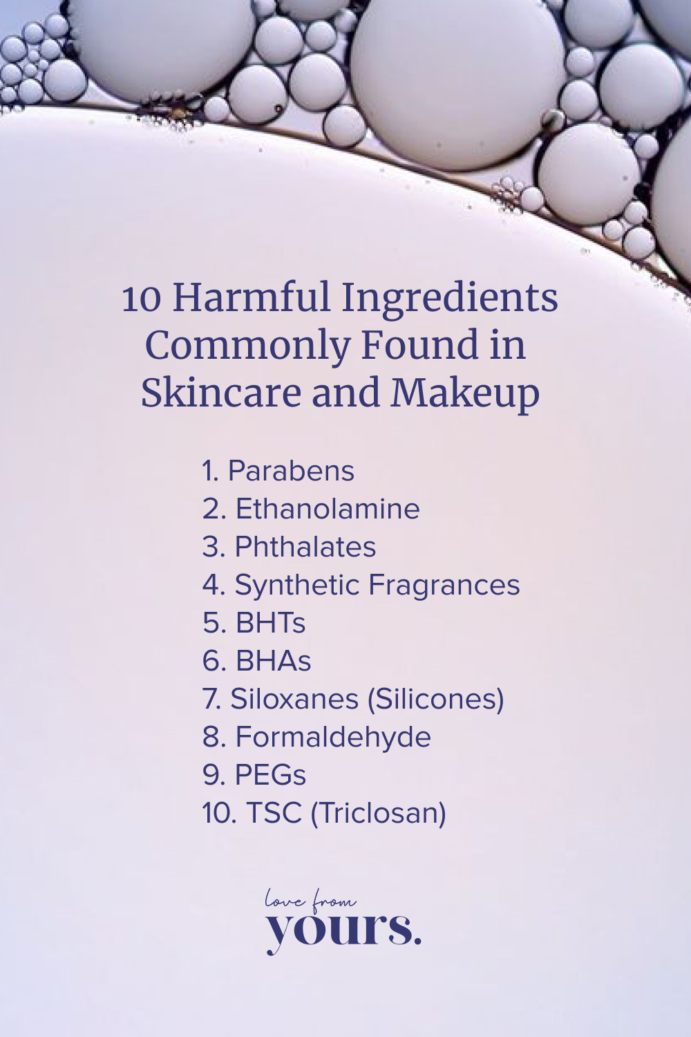 Harmful Ingredients Commonly Found in Skincare and Makeup
