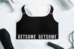 GS Sports Bra - Black - Get Some
