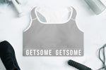 GS Sports Bra - Charcoal Grey - Get Some