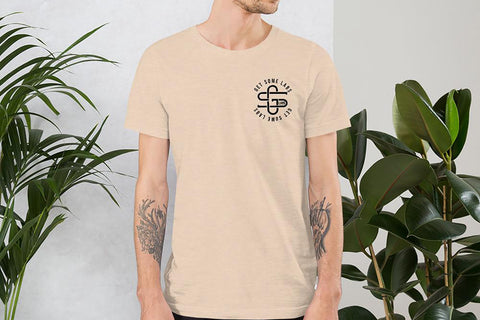 Iconic Monogram Tee - Dust - Get Some