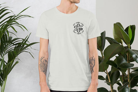Iconic Monogram Tee - Silver - Get Some