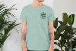 Iconic Monogram Tee - Teal - Get Some