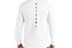 Iconic Monogram Long Sleeve - White - Get Some