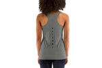 Women's Racerback Tank  - Grey - Get Some