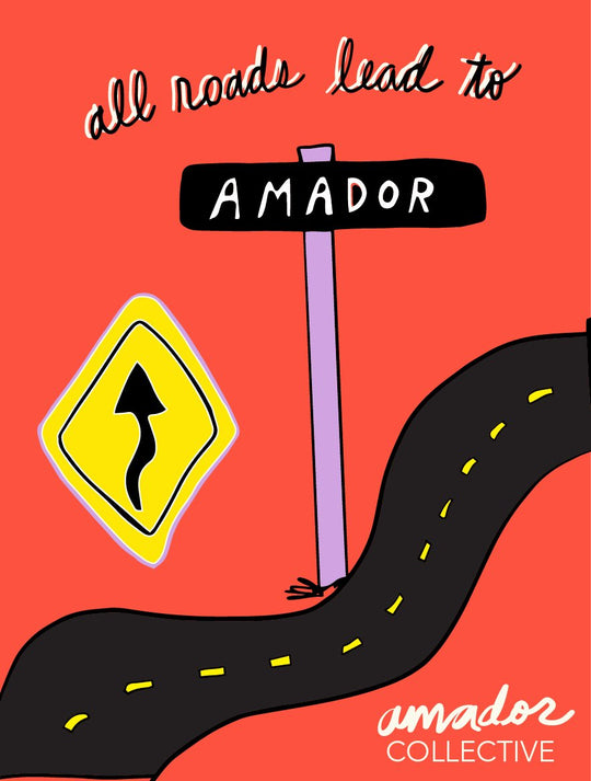 The Road to Amador