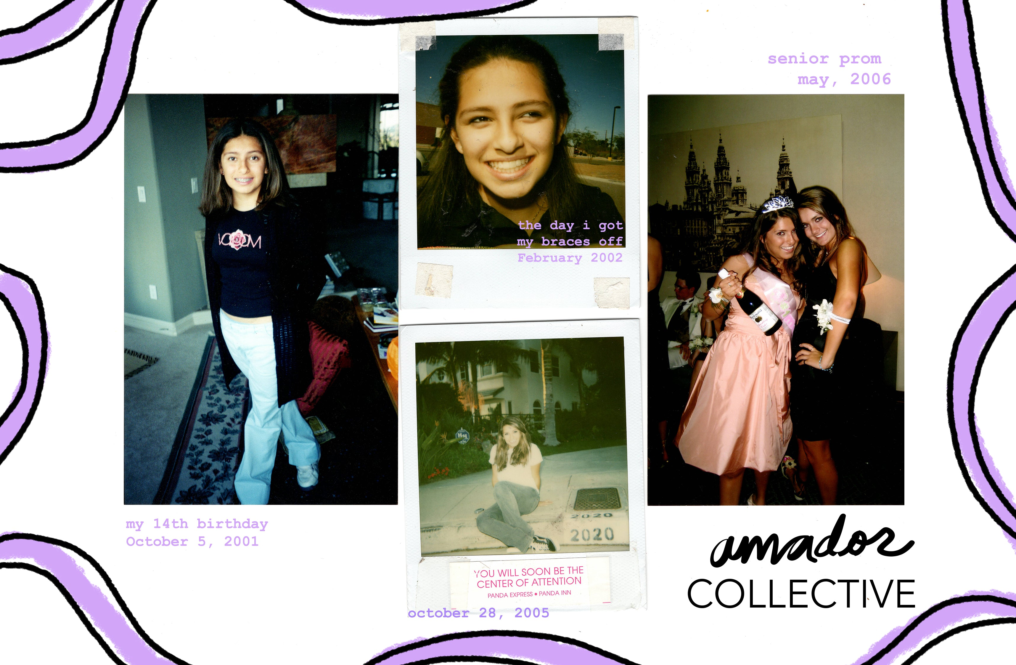 Amador Collective History aka Daniela Garcia Allie timeline small business
