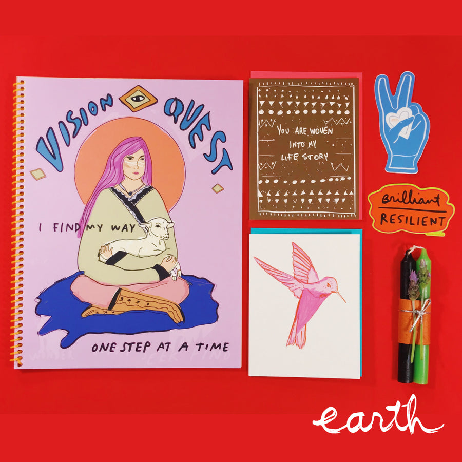 Journal Gift Set: Earth