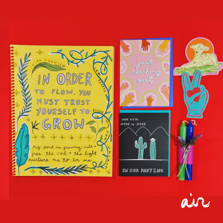 Journal Gift Set : Air