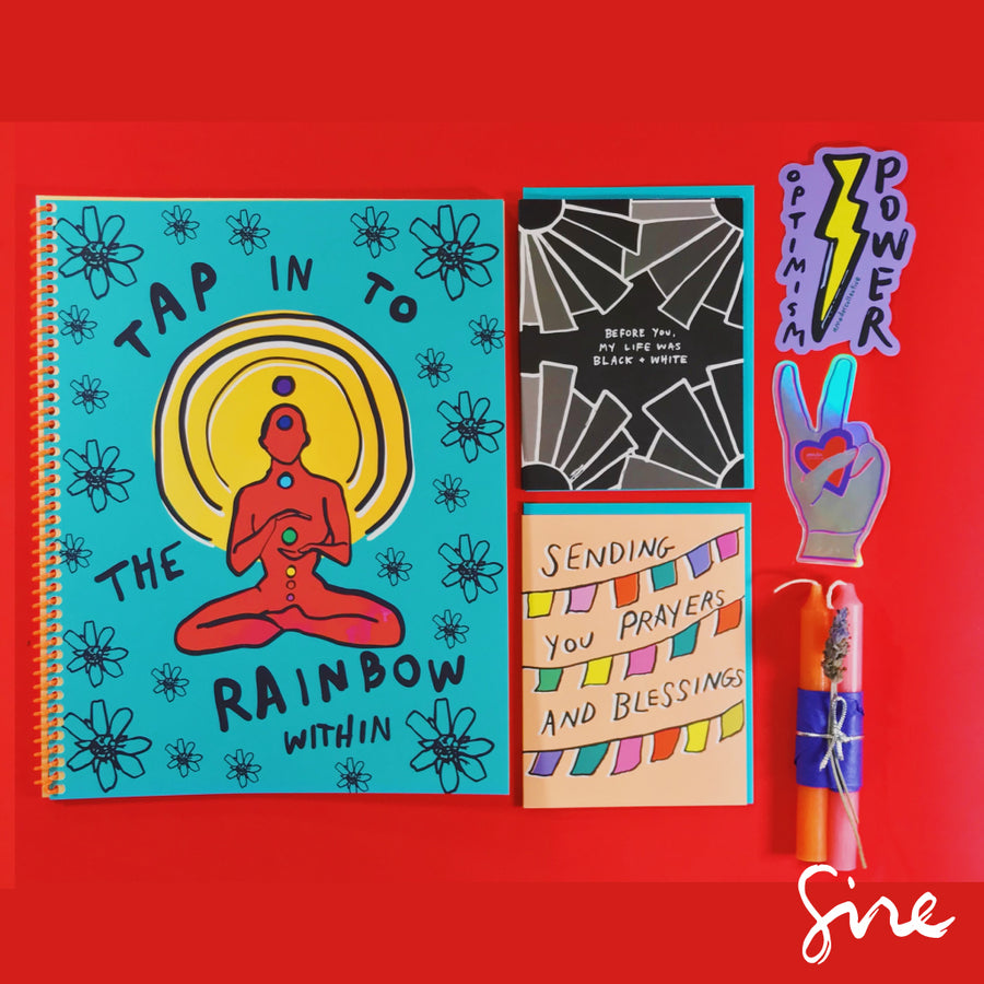 Journal Gift Set: Fire