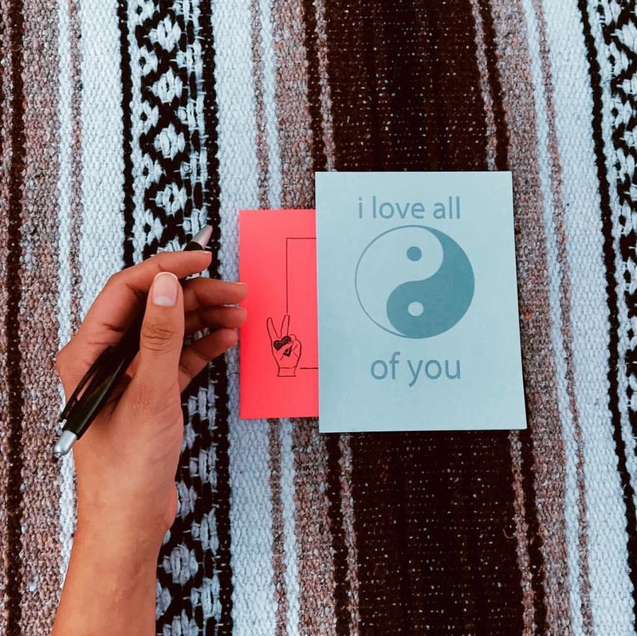 YinYang Love Card