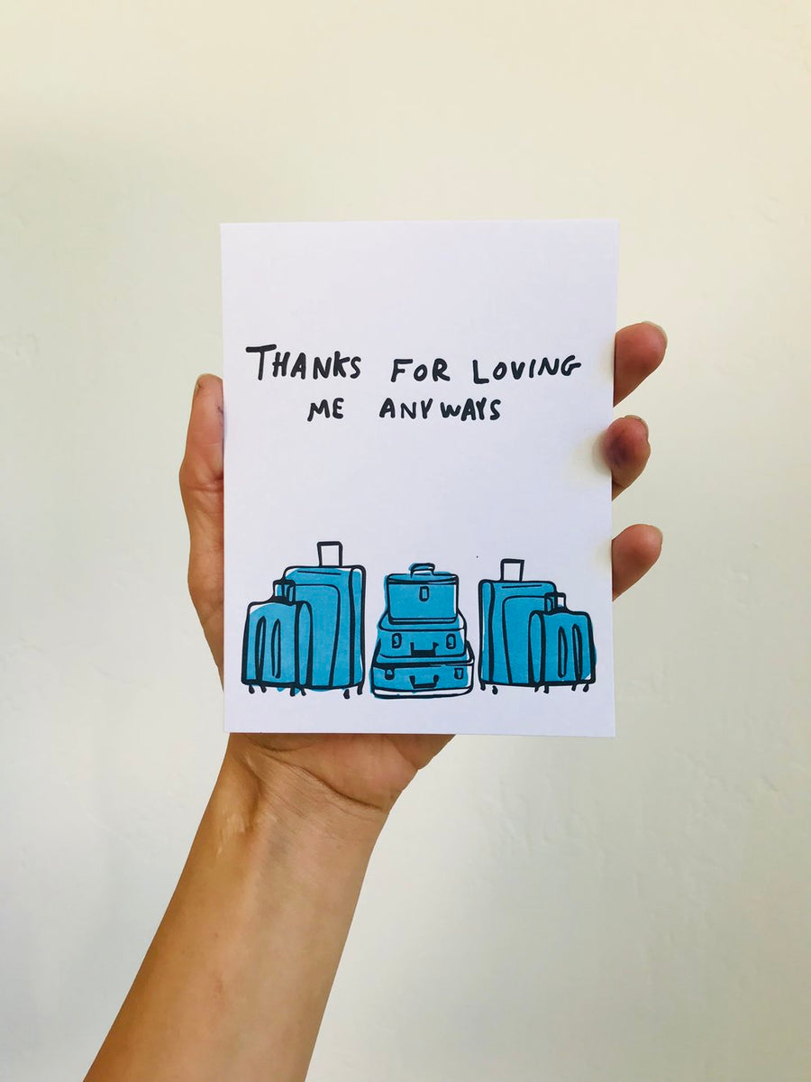 Baggage | Thanks for Loving me Anyways