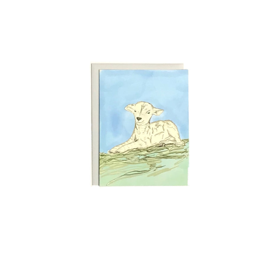 Baby Lamb Card | Thinking of you Card