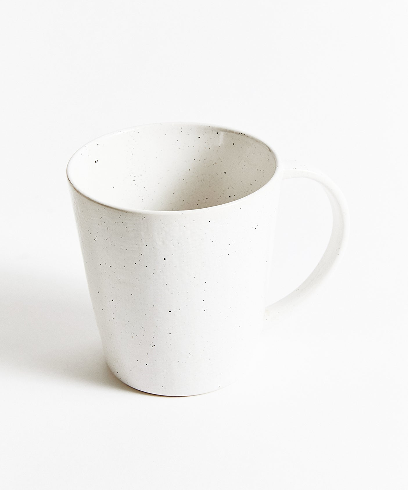 Oversized Speckled Mug