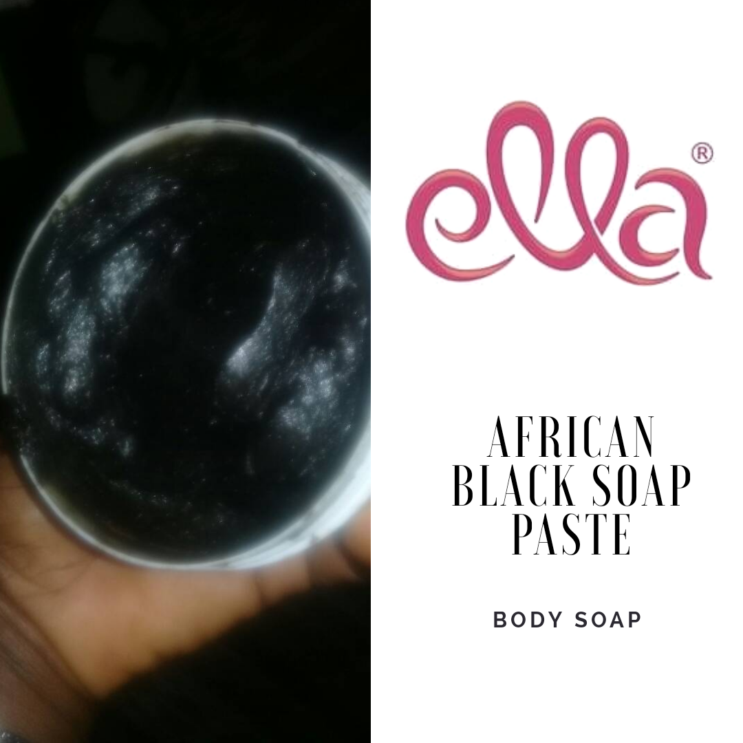 Ella Beauty Products - Raw African Black Soap Paste