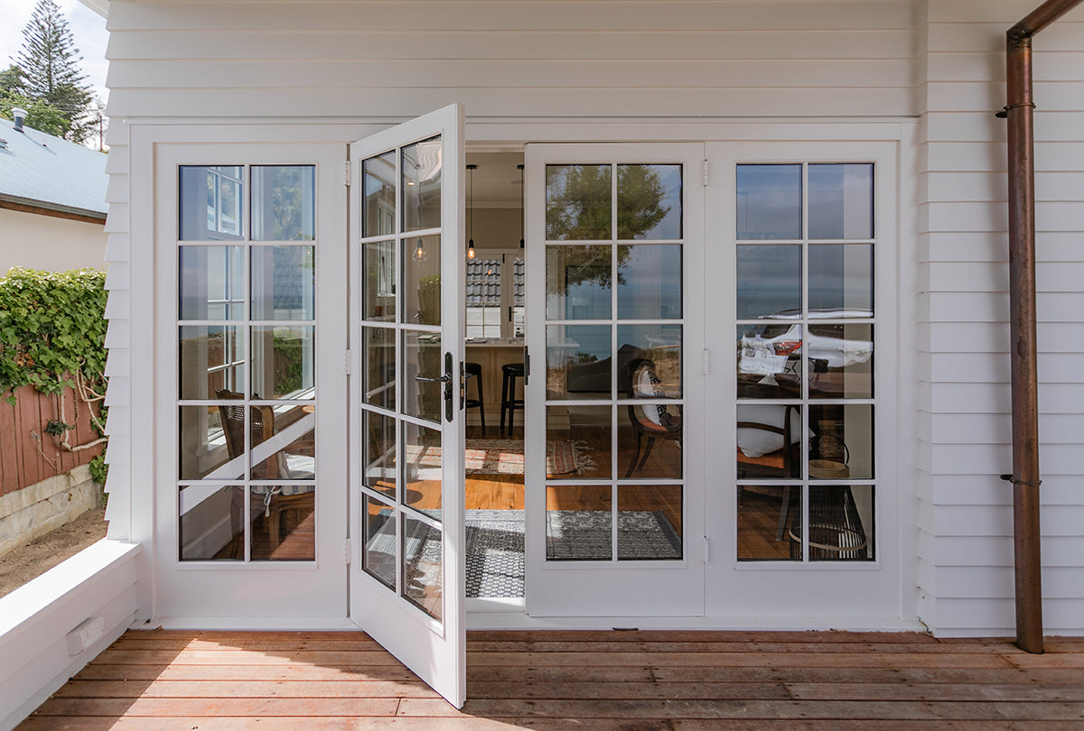 Moncrieff Ave French Doors