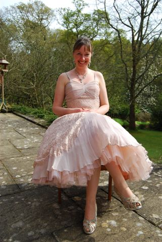 Vintage wedding dress from Hope and Harlequin