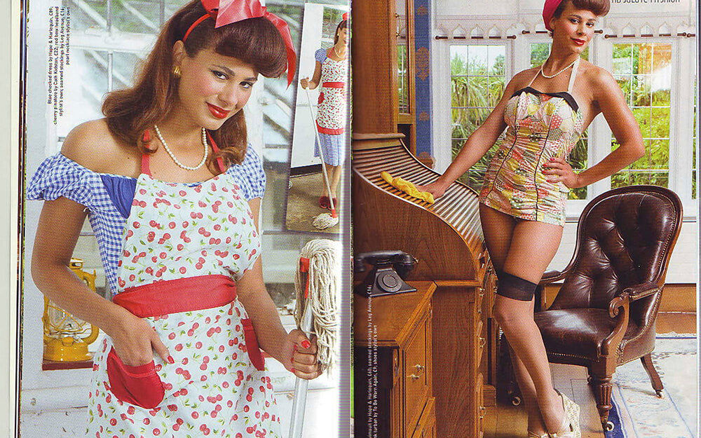 Hope and Harlequin vintage clothes and bridal gowns in the press