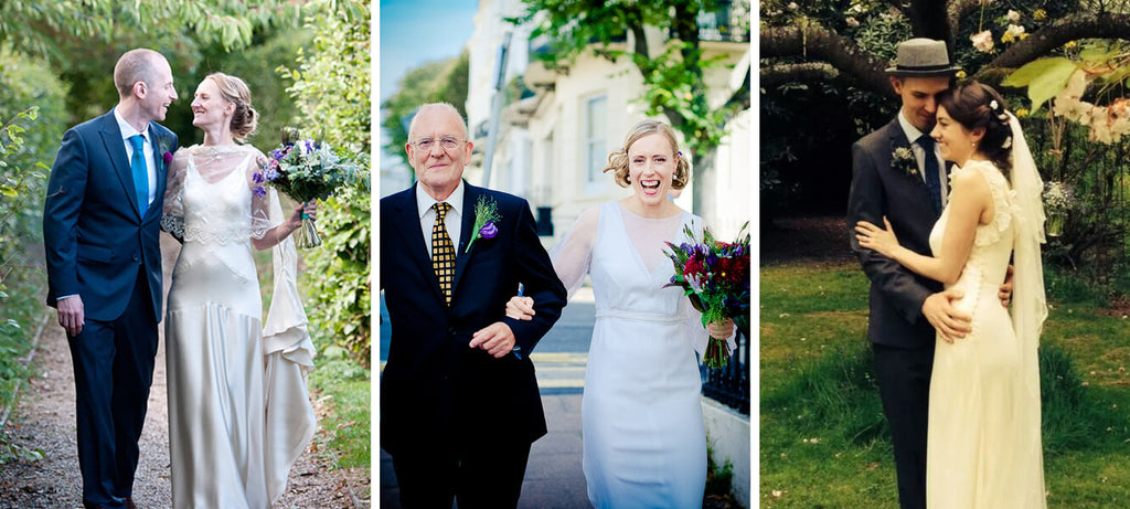 Reviews of Vintage wedding dresses from Hope and Harlequin