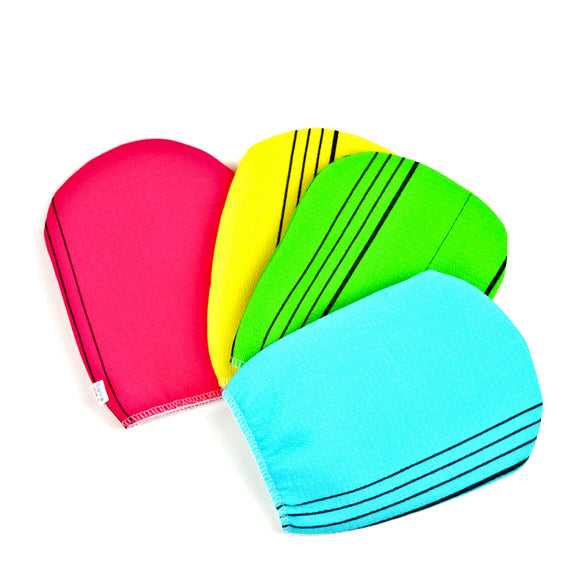 Italy Scrub Padded Exfoliating Glove (4 Colours)