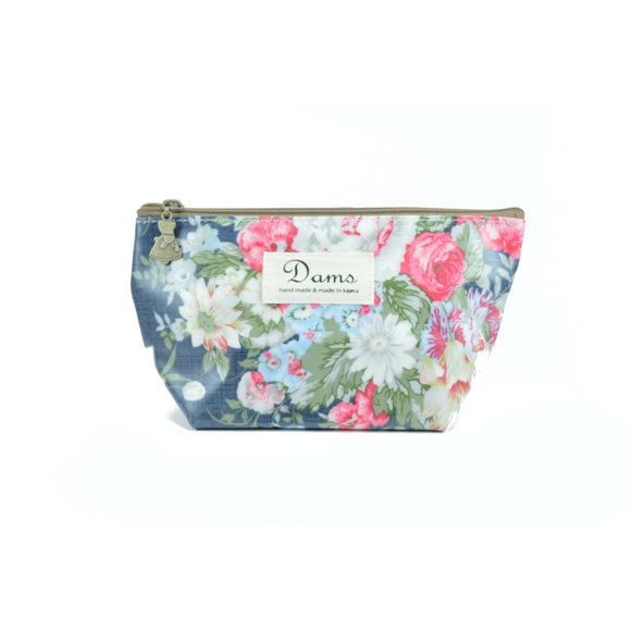 Dams Cosmetic Makeup Bag in floral lush print