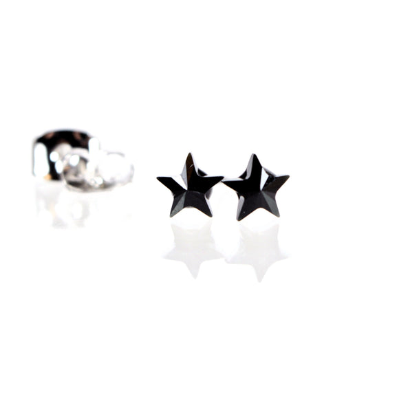 Star Stud Earrings made with Swarovski Crystal Elements