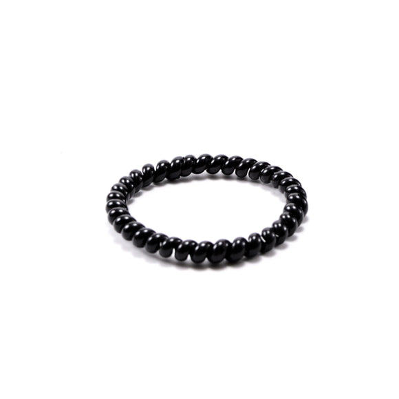 Black Spiral Hair Tie