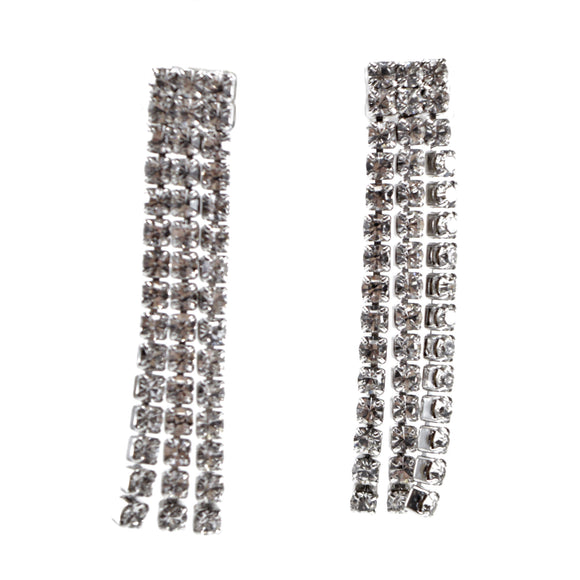 Crystal Sweep Earrings