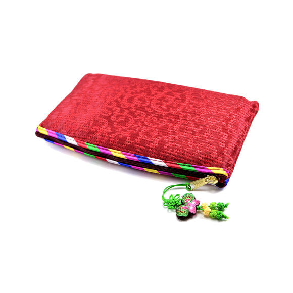Korean Traditional Makeup Bag (Red)