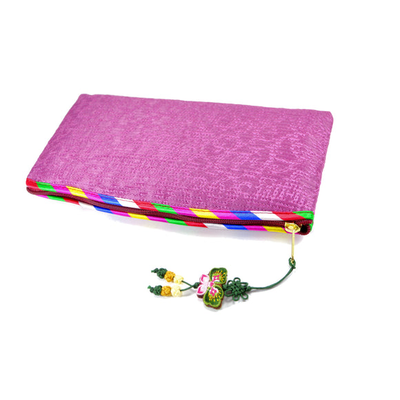 Korean Traditional Makeup Bag (Light Purple)