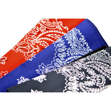 Paisley Printed Bandana available in 3 colours