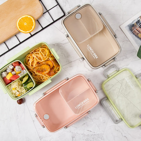 Natural Wheat Straw Bento Box