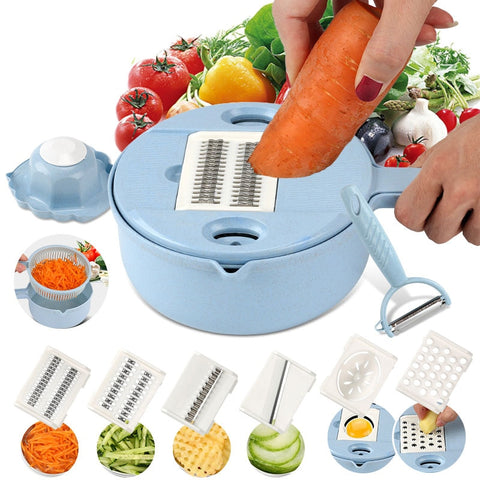 Vegetable Thread Slicer Cutter Chopper and Grater