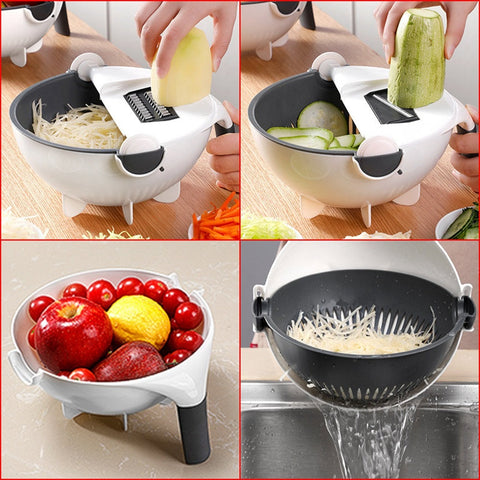 Smart Chopping and Strainer Bowl