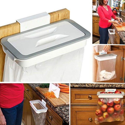 Kitchen Trash Bag Storage Rack