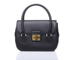 Catherine satchel - Black leather