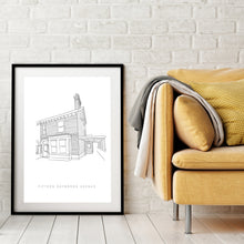Load image into Gallery viewer, Personalised House Illustration Print