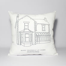 Load image into Gallery viewer, Personalised House Illustration Cushion