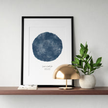 Load image into Gallery viewer, Personalised Night Sky Star Map Print