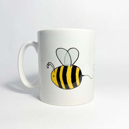 Personalised Ceramic Bee Mug